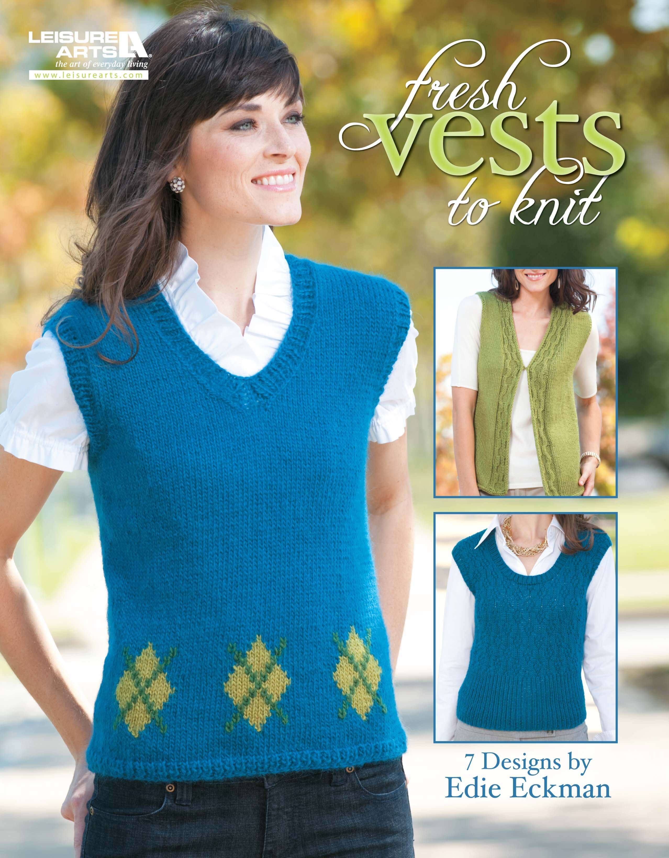 Fresh Vests to Knit