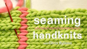 Seaming Handknits