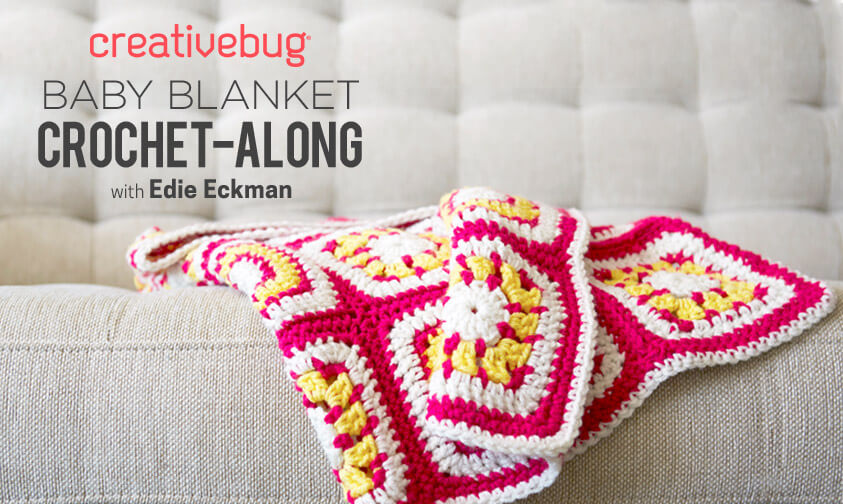 Baby Blanket Crochet-Along with Creativebug
