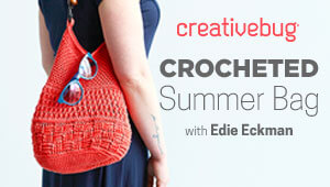 Crocheted Summer Bag with Creativebug