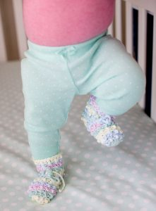 Baby Bootees One-Skein Wonders for Babies