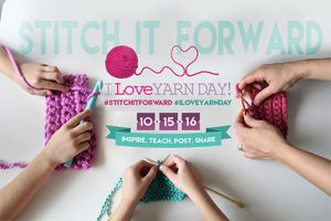 I Love Yarn Day banner