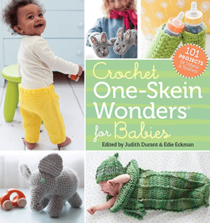 Crochet One Skein Wonders for Babies by Edie Eckman