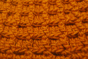 Stitch Pattern Closeup