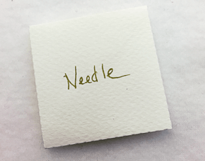Needle envelope