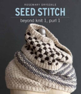 Seed Stitch Cover