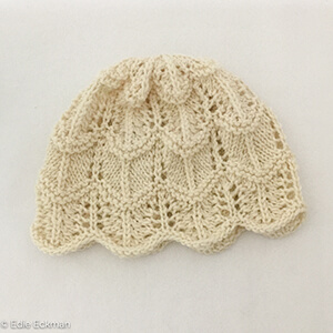 Charlotte Hat knitting pattern by Edie Eckman