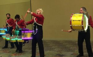 Creativation AFCI drummers