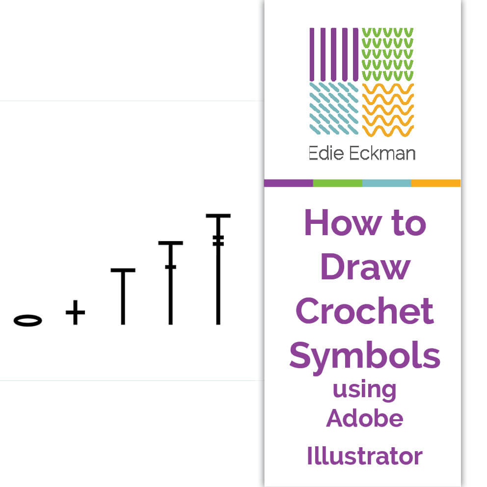 How to draw crochet symbols using adobe illustrator edie eckman biocorpaavc Gallery