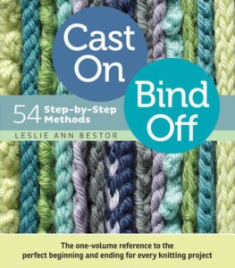 Cast On Bind Off by Leslie Ann Bestor