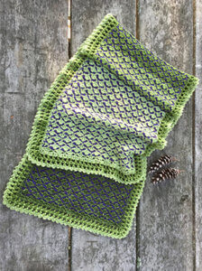 Three Pines Shawl Crochet Pattern