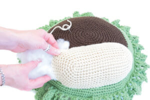 Monkey Pillow Step Out Crochet Animal Rugs by Ira Rott