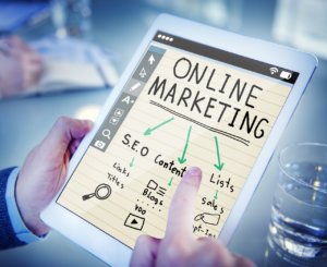 Online Marketing graphic