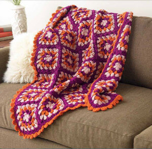 """Mod Retro Afghan from """"Unexpected Afghans"""""""
