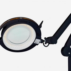 Brightech Lightview LED Roller Base Magnifier Lamp