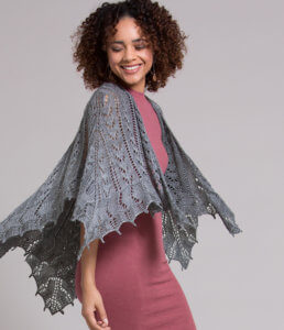 Knitting Modular Shawls, Wraps and Stoles by Melissa Leapman shawl image