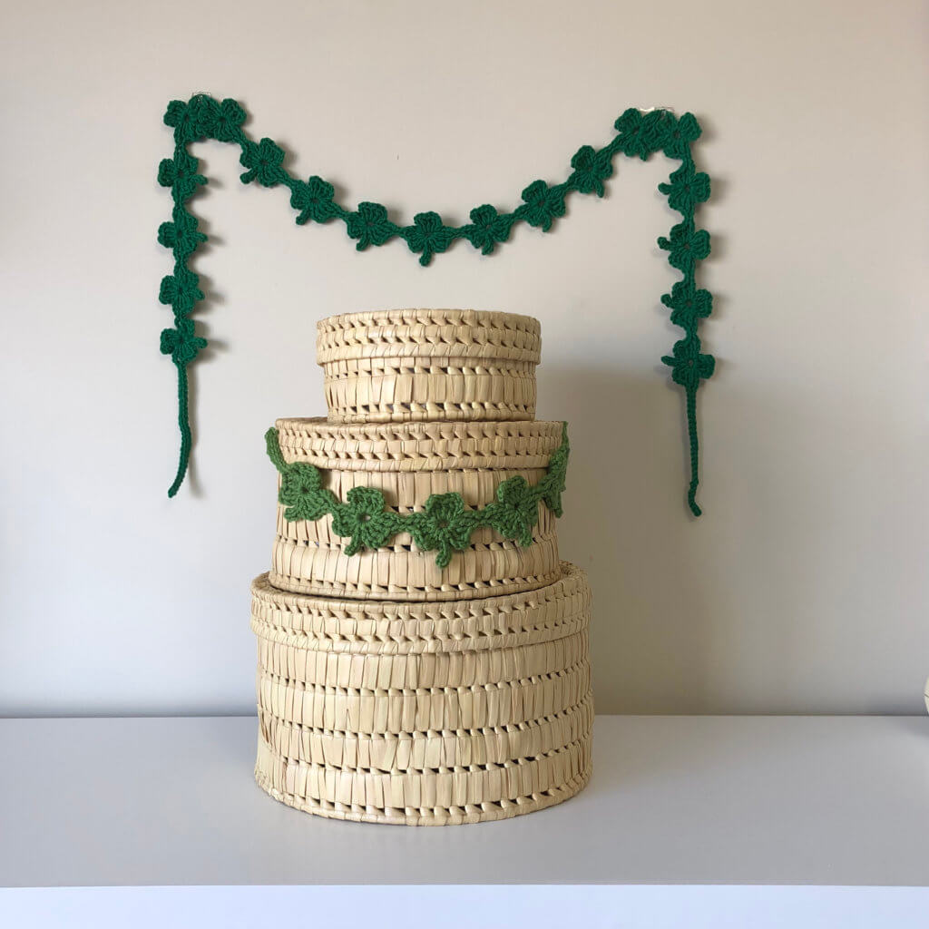 Endless Shamrocks Garland