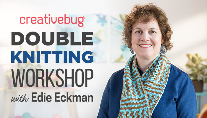 Double Knitting Workshop with Edie Eckman