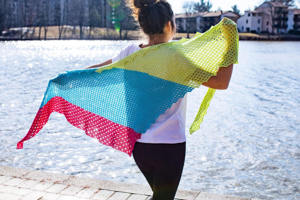 River Heights Shawl-wingspan