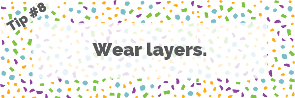Tip #8 Wear layers