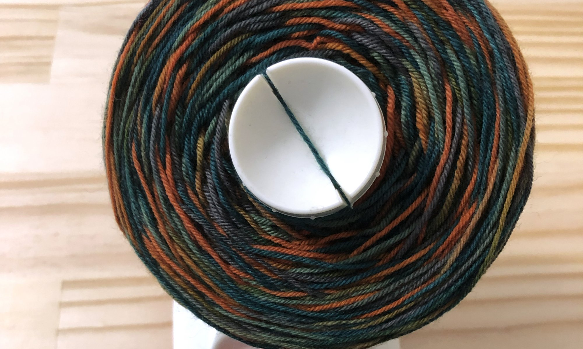 Yarn on winder