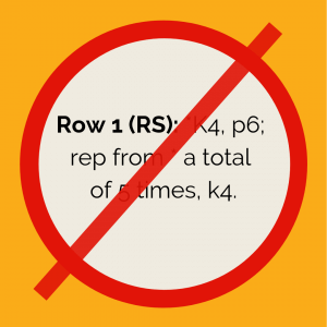 Row 1 (RS): *K4, p6; rep from * a total of 5 times, k4.