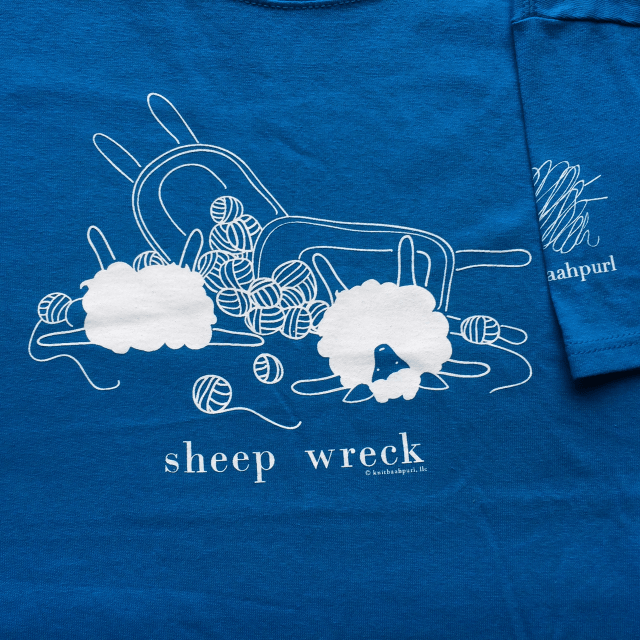 Sheep Wreck T from Knitbaahpurl