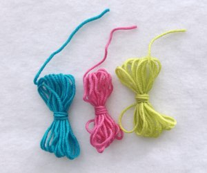 How to Wind a Yarn Butterfly