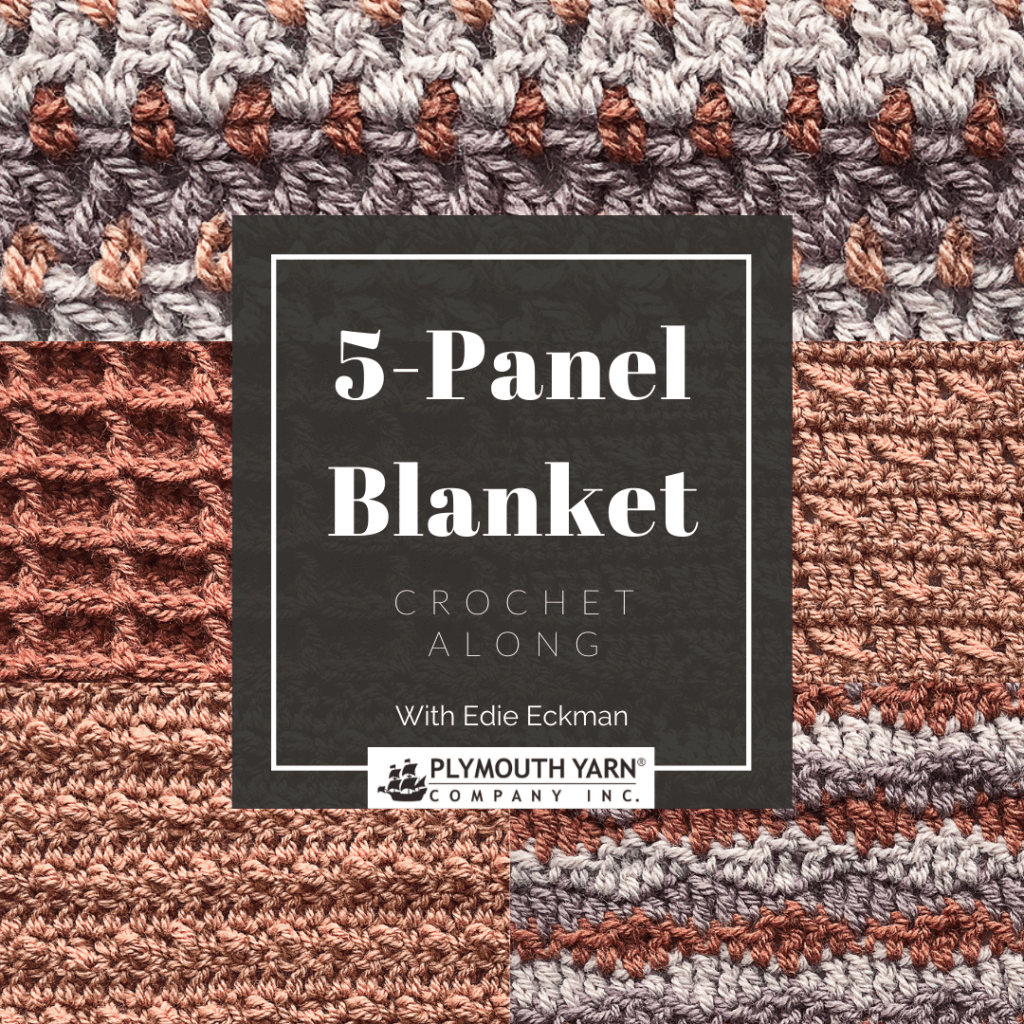 5-Panel Blanket Crochet Along