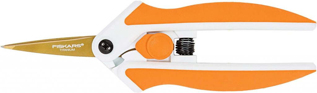 Fiskars Micro-Tip Easy Action Scissors