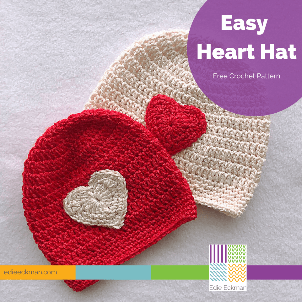 Easy Heart Hat
