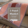 5-Panel Blanket Crochet Along with Edie Eckman for Plymouth Yarn, Finishing