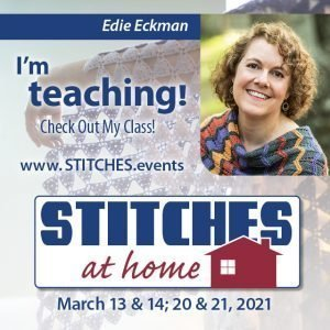 Stitches at Home March 2021