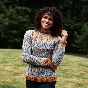 Crocheted Sweater from WeCrochet