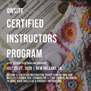 Onsite Certified Instructors Program Craft Yarn Council
