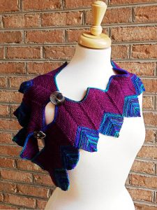 Folly Scarf Knitting Pattern by Edie Eckman