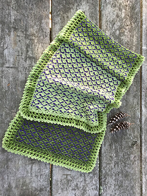 Three Pines Shawl Crochet Pattern by Edie Eckman