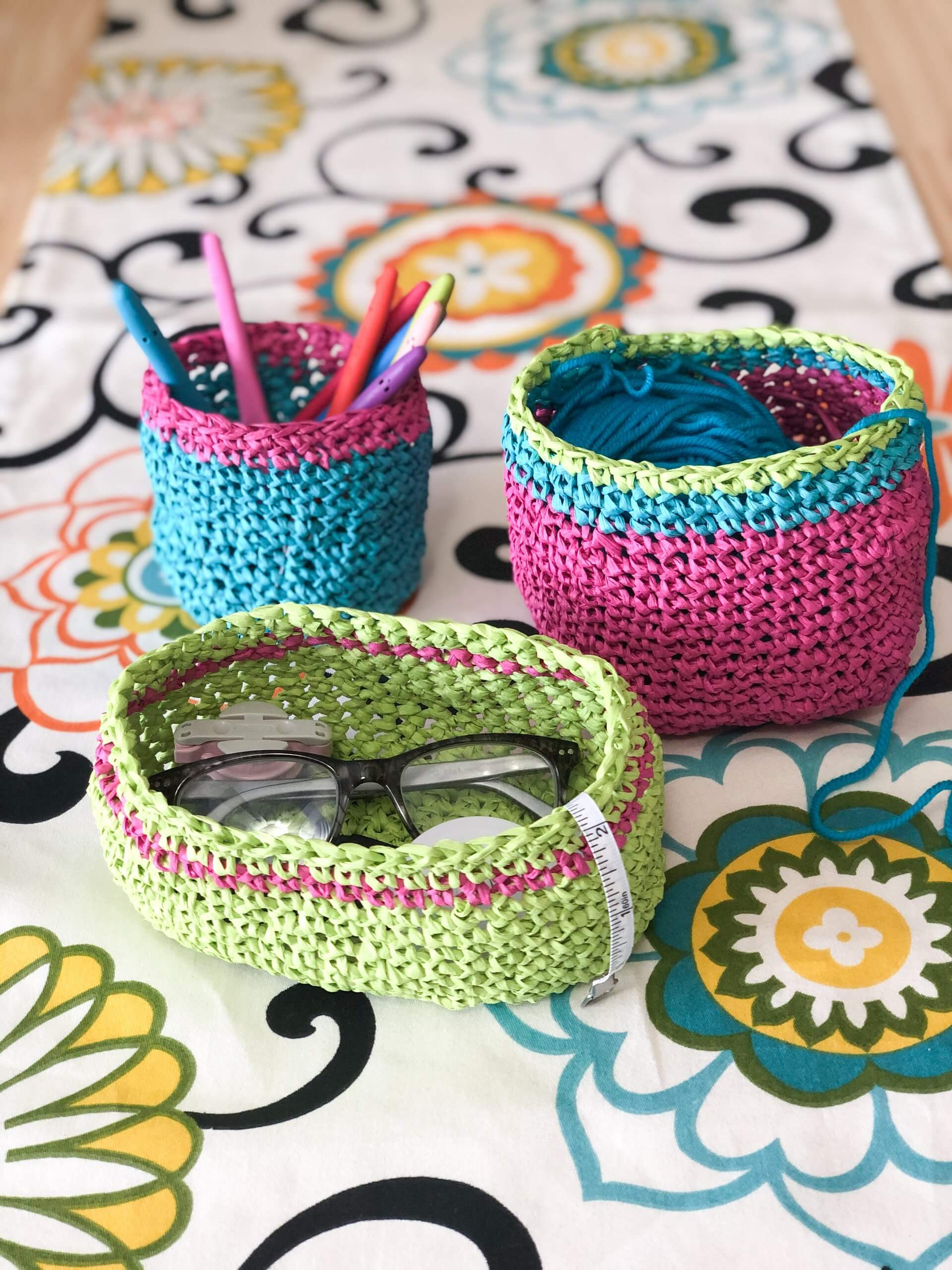 Easy Little Baskets
