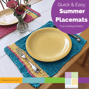 Quick & Easy Summer Placemats