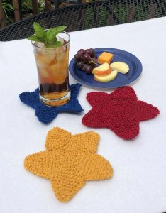 star coasters on table
