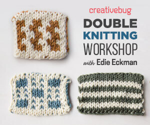 Double Knitting Workshop with Creativebug