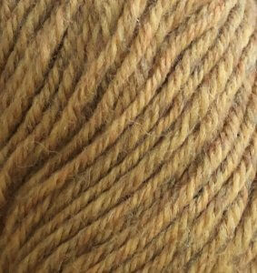 Closeup of Spice Rustic color Universal Yarn Deluxe Worsted Superwash