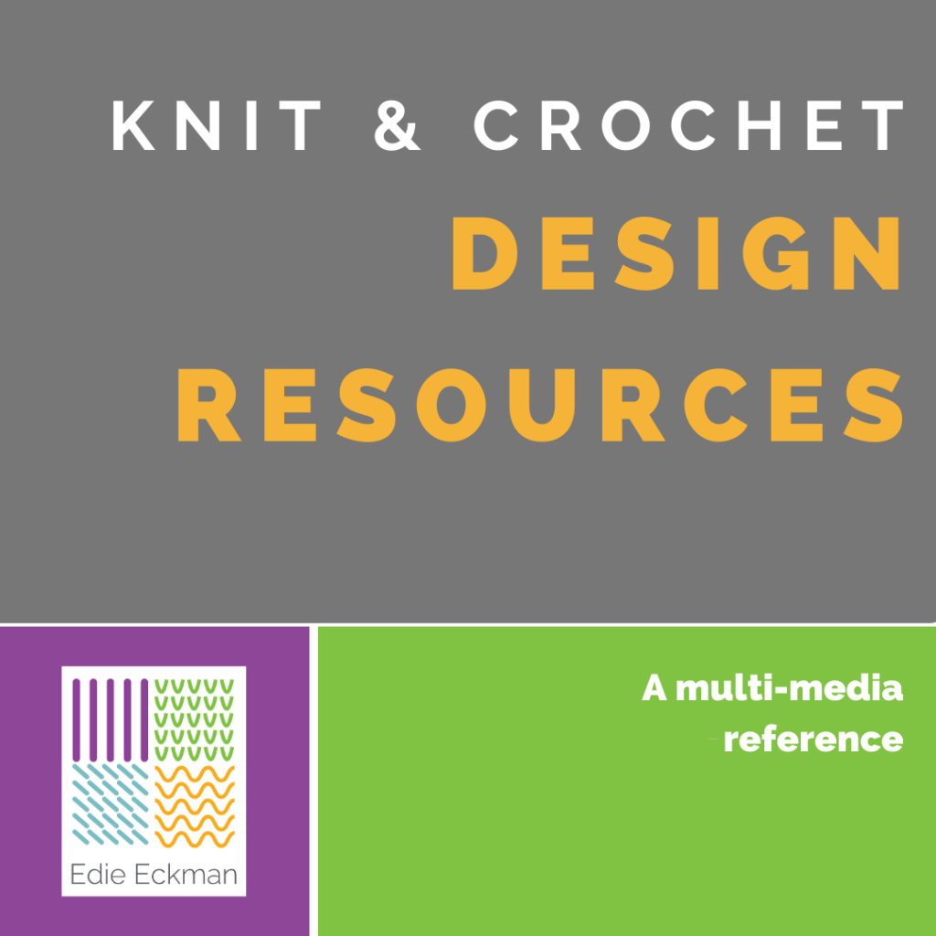 Knit & Crochet Design Resources graphic