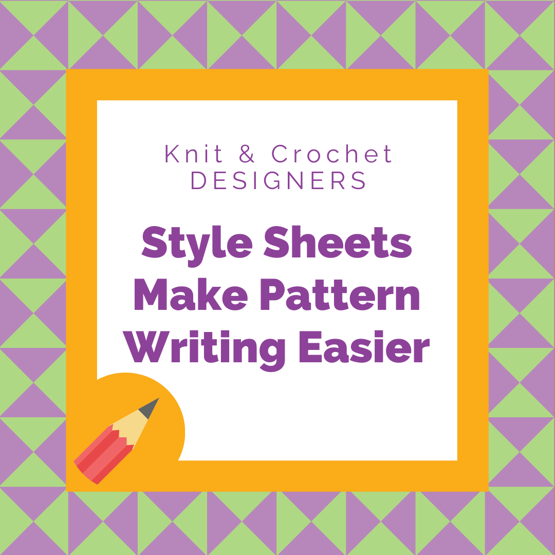 Style Sheets Make Pattern Writing Easier