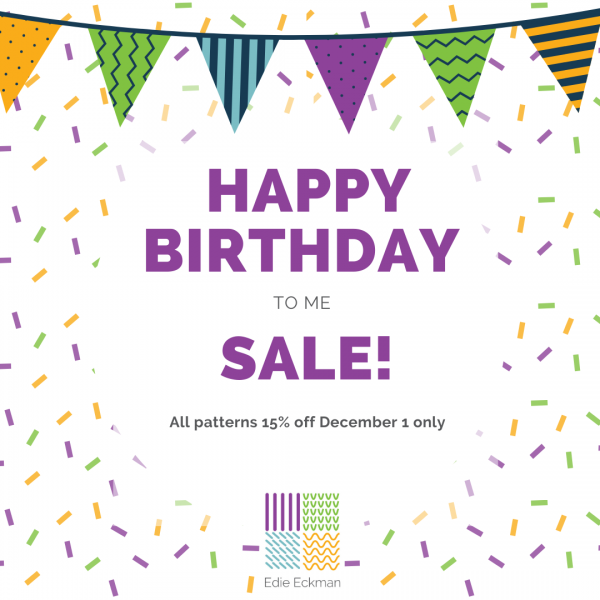 Happy Birthday Sale