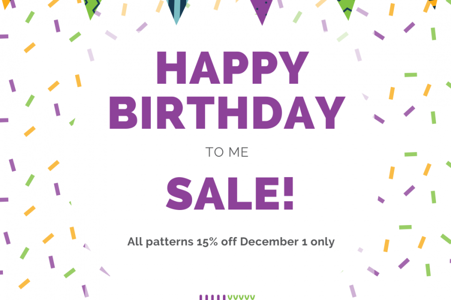 Happy Birthday Sale with festive banner