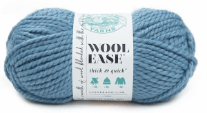 Lion Brand Wool Ease Thick & Quick, color Air Force
