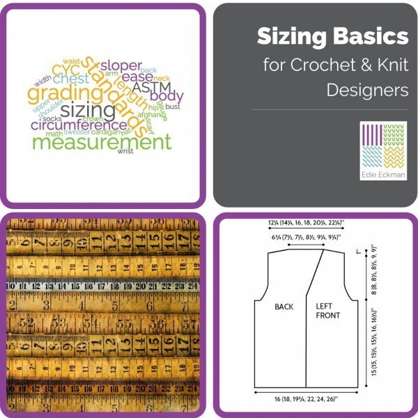 Sizing Basics for Crochet and Knit Designers